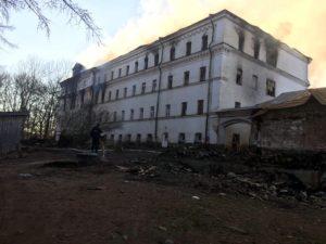 Помощь погорельцам из Валаамского монастыря