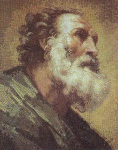 Апостол Петр мозаика
