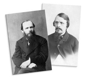 Михаил и Федор Достоевские