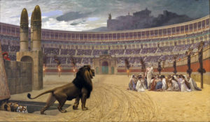 Последняя молитва христиан перед казнью
