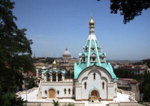 Православные храмы Рима