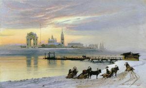 Строительство Сибирского тракта