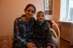 Окна для бабушек и дедушек в доме престарелых в Опочке