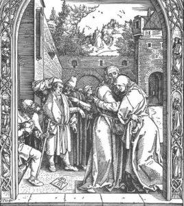 Святые Иоаким и Анна: встреча у Золотых ворот