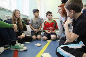 Волонтёры к «Даниловцам»