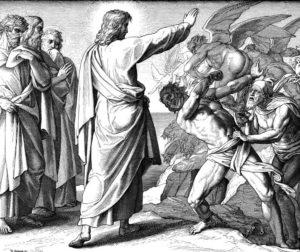 Иисус изгоняет бесов
