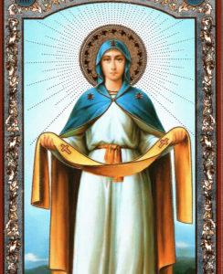 История праздника Покрова Пресвятой Богородицы
