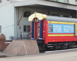 вагон храм
