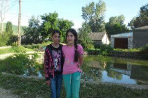 Амина Муслимова и Аида Садыкова