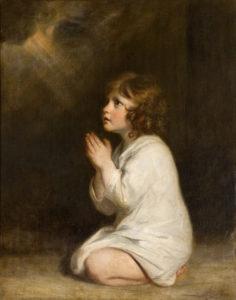 """""""Пророк Самуил в детстве"""" Джошуа Рейнольдс, 1776 г."""