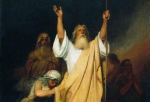 Оранта или почему священник поднимает руки вверх во время богослужения