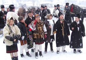 """Плугушорул или """"малое Рождество"""" в Румынии"""