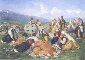 Задушница – традиции поминовения умерших  у православных сербов и болгар