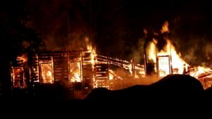 Восстановление сгоревшего храма в селе Загородье
