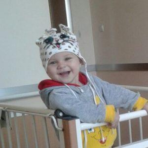Первый этап лечения для малышки Анны-Софии