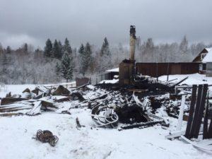 Помощь Ольгинскому монастырю после пожара