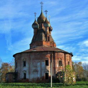Храм Казанской иконы Божией Матери в селе Курба
