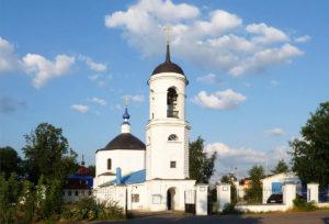 Богородицерождественский храм с. Анискино