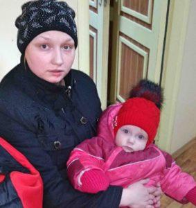Помощь маленькой семье — Анфисе и ее дочке Люде