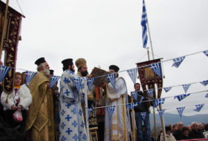 Обычаи греческого Крещения