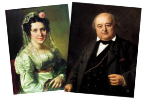 Михаил и Елена Щепкины