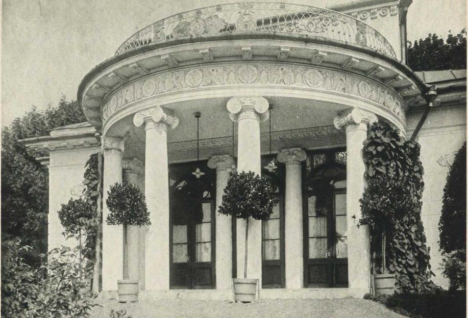 Дом в усадьбе Найдёновых