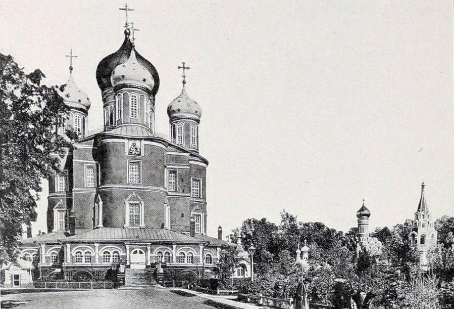 Донской монастырь.Большой и Малый соборы