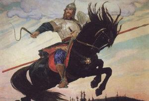 Преподобный Илия Муромец, Печерский и русские народные былины об Илье Муромце