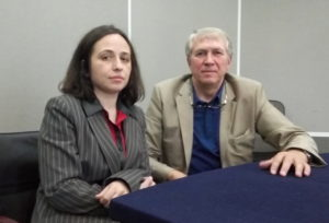 Геннадий Коновалов и Майя Петрова