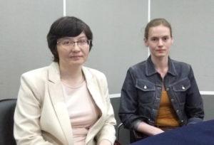 Инна Медведева и Анна Топельберг