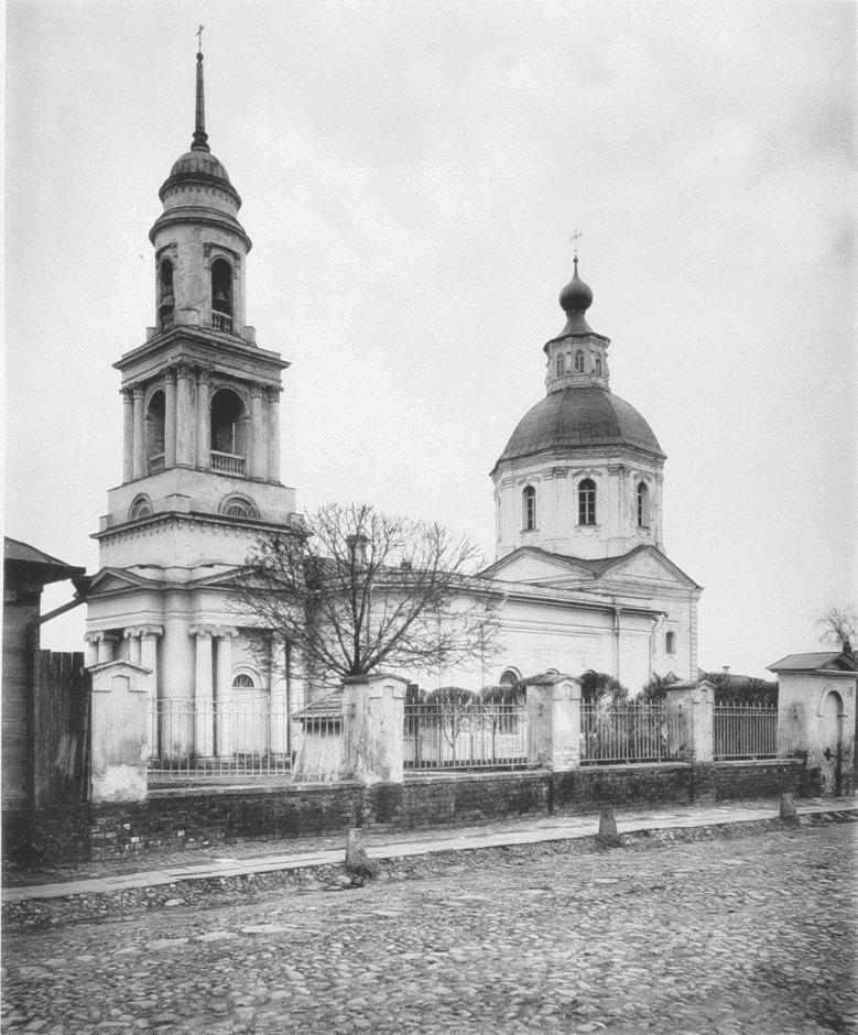 Церковь Спаса Преображения на Болвановке