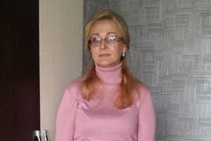 Важное лекарство для медсестры Елены Бабешко