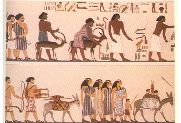 росписи гробницы хнумхотепа