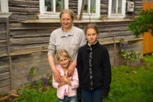 Печка для Ольги и троих детей