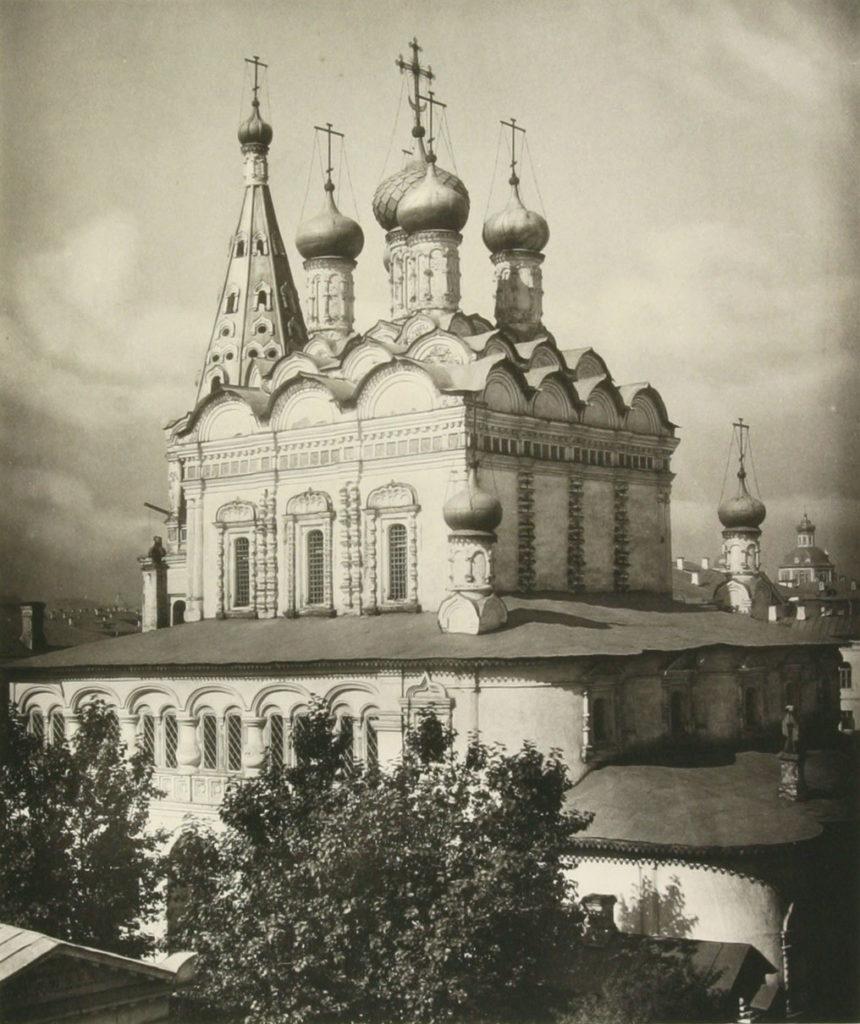 Храм Николая Чудотворца в Армянском переулке