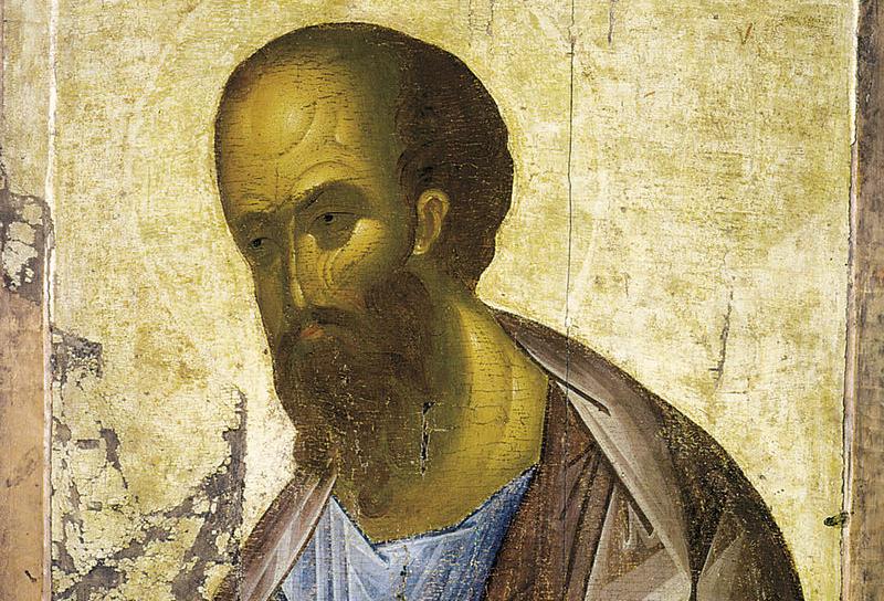 Андрей Рублев. Апостол Павел, 1410