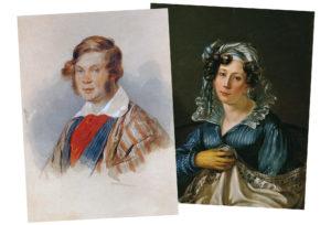 Пётр и Вера Вяземские