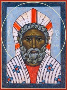 Святой Моисей Мурин