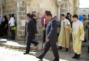 Кавасы — охрана Иерусалимского Патриарха
