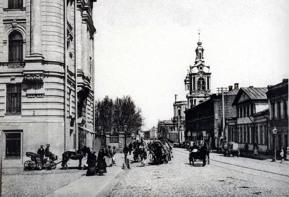 Cтарая Басманная улица