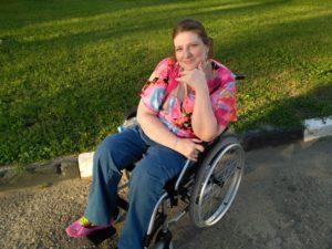 Инвалидное кресло для Кристины
