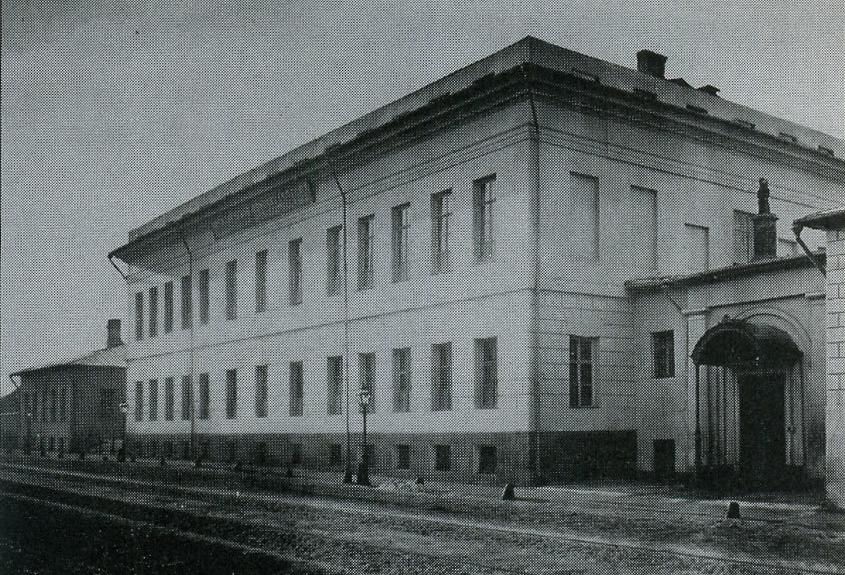 Солянка. Здание Николаевского женского училища