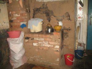Печка для Ольги и ее троих детей