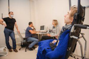Инвалидное кресло для Вити Клевцова