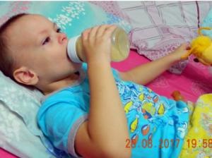 Медицинское питание для Дамира Колмакова