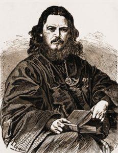 Священник Александр Гумилевский