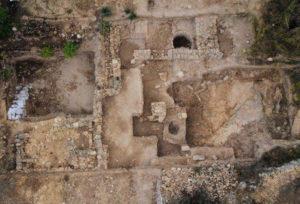 Языческий храм в Тель-Моце близ Иерусалима