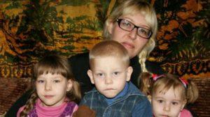 Помощь многодетной семье из Алтайского края