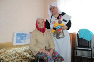 Помощь инвалидам и одиноким пожилым людям