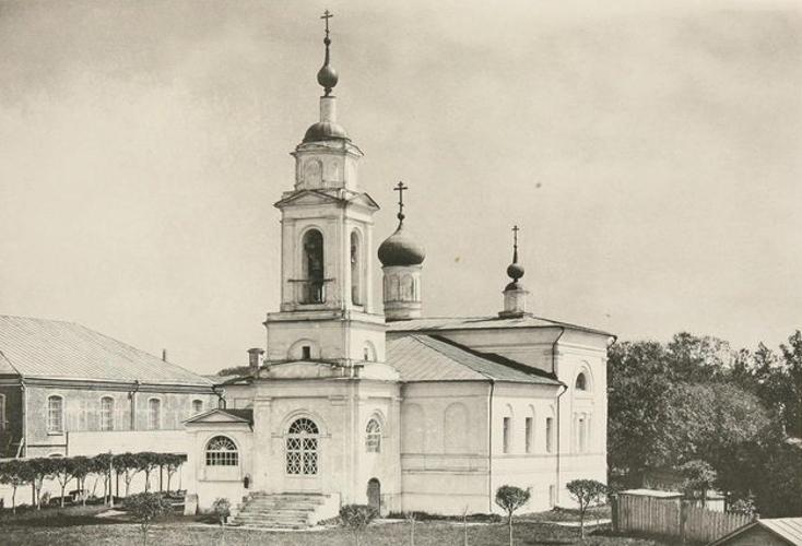 Церковь Саввы Освященного на Девичьем поле